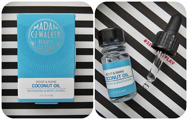 Madam C.J. Walker Scent & Shine Coconut Oil
