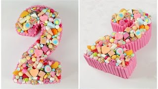 Decorate A Candy Number Cake – CAKE STYLE