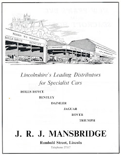 J R J Mansbridge advert from 1969