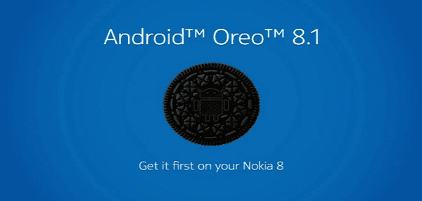 Nokia 8 phone gets the android oreo 8.1 update