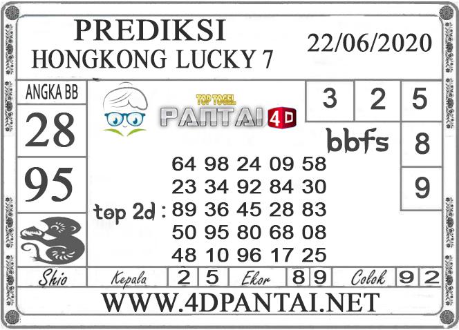 PREDIKSI TOGEL HONGKONG LUCKY 7 PANTAI4D 22 JUNI 2020