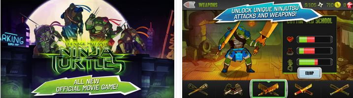 TMNT: Brothers Unite v1.0.2 APK DATA