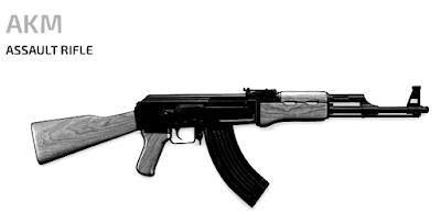 Senjata Yang Sering Digunakan Oleh Top Global PUBG