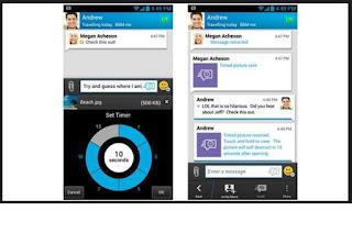 fitur timer aplikasi bbm