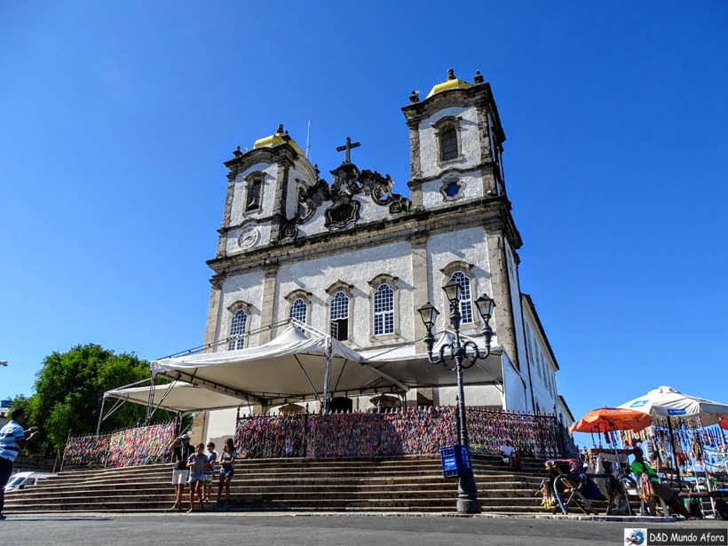 O que fazer em Salvador - igreja do Bonfim