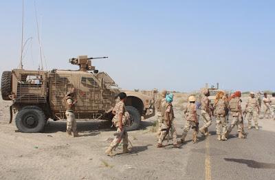 سيطرة الجيش اليمني على 4 مواقع بمحافظة الحديدة