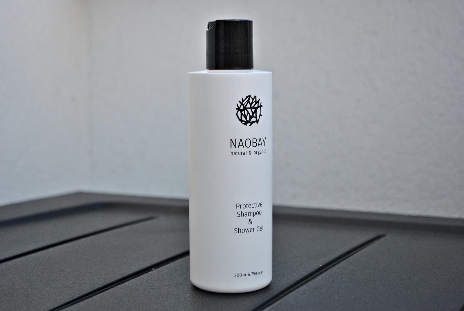 Naobay natural & organic szampon i żel pod prysznic