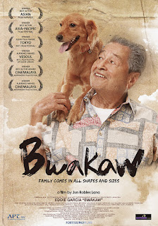 Eddie Garcia stars as a lonely gay man in his 70s who cares for a stray dog he named bwakaw.