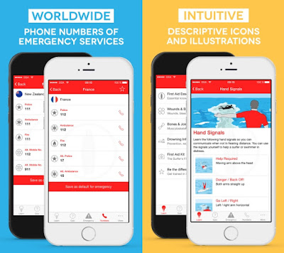 Printscreens Surf First Aid App European Surfing Doctors