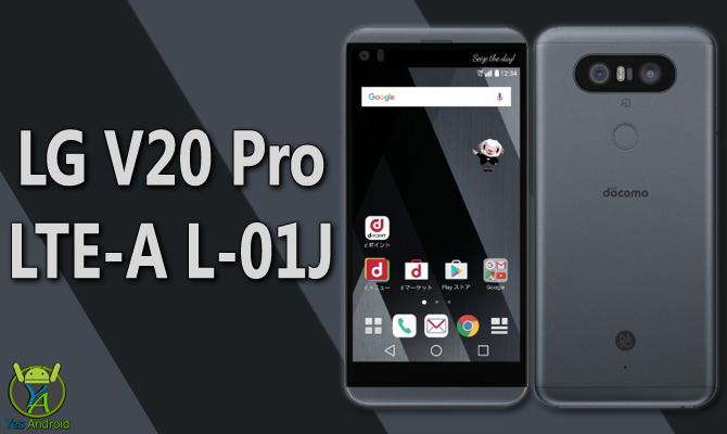 LG V20 Pro LTE-A L-01J Full Specs Datasheet
