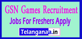 GSN Games Recruitment Notification 2017 Jobs For Freshers Apply