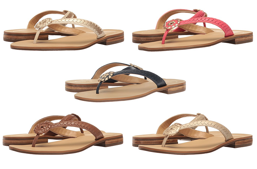 Amazon: Jack Rogers Ali Sandals only $35 (reg $118) + Free Shipping!