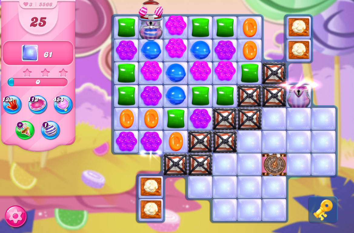 Candy Crush Saga level 5566