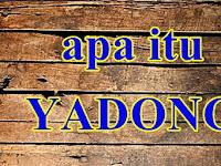 Apa itu Kata Yadong Dalam Bahasa Indonesia