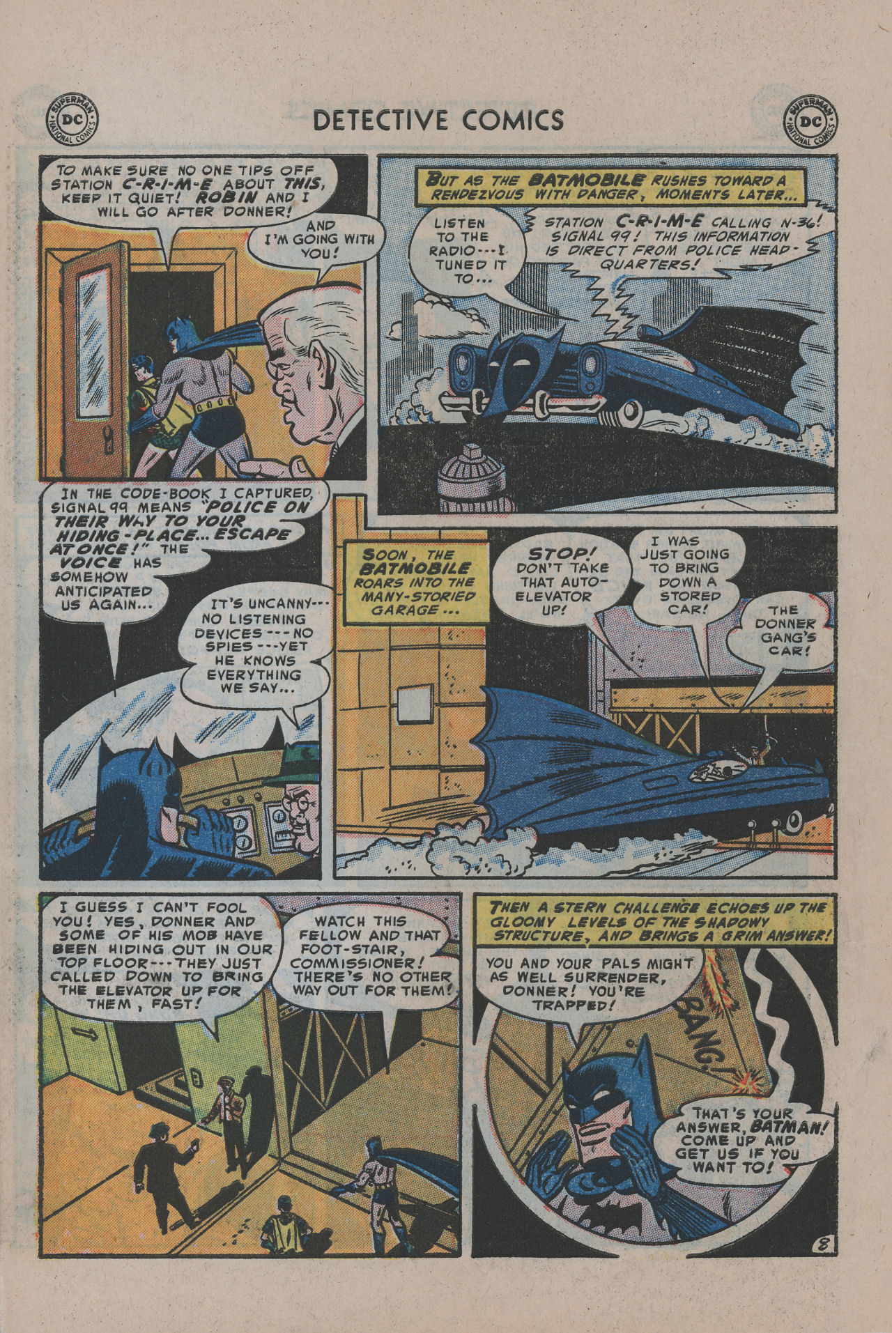 Read online Detective Comics (1937) comic -  Issue #200 - 11