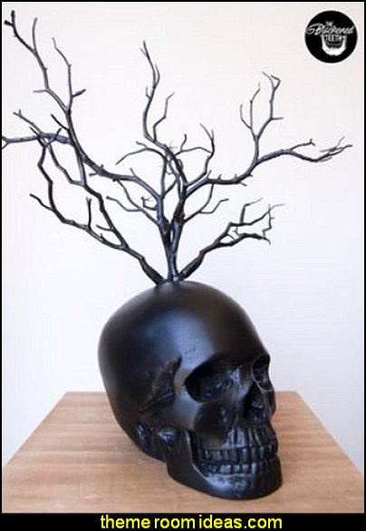 Skull Decor Jewellery Stand  Ring Tree  Skull Jewellery