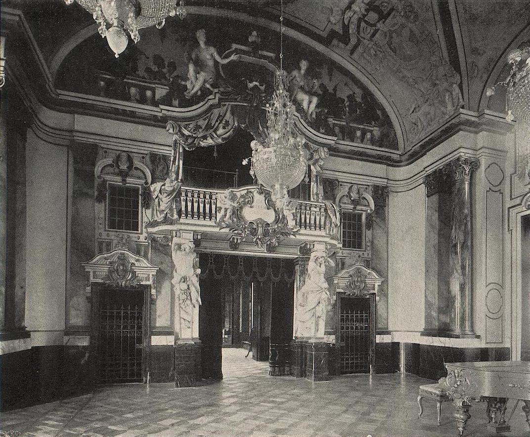Max friedrich koch 1859 1930 werkverzeichnis schloss for Innendekoration berlin