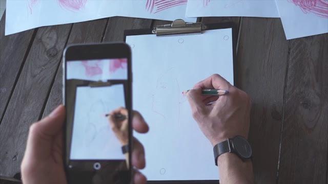 تطبيق جديد يساعدك على أن تصبح رسام محترف بالإعتماد على تقنية الواقع المعزز ( augmented reality )