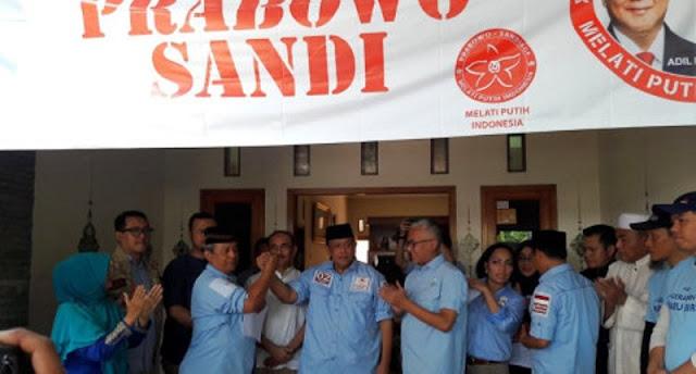 Djoko Santoso: Peluang Menang Prabowo-Sandi di Jawa 50-50