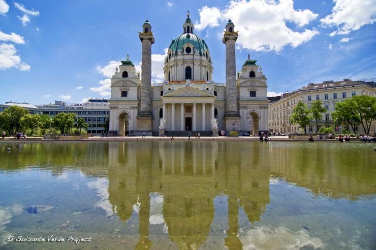 San Carlos Borromeo - Viena, por El Guisante Verde Project