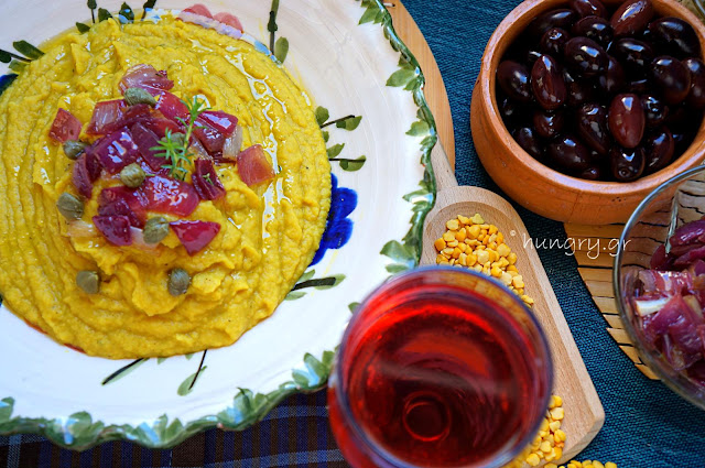 Yellow Split Pea with Caper