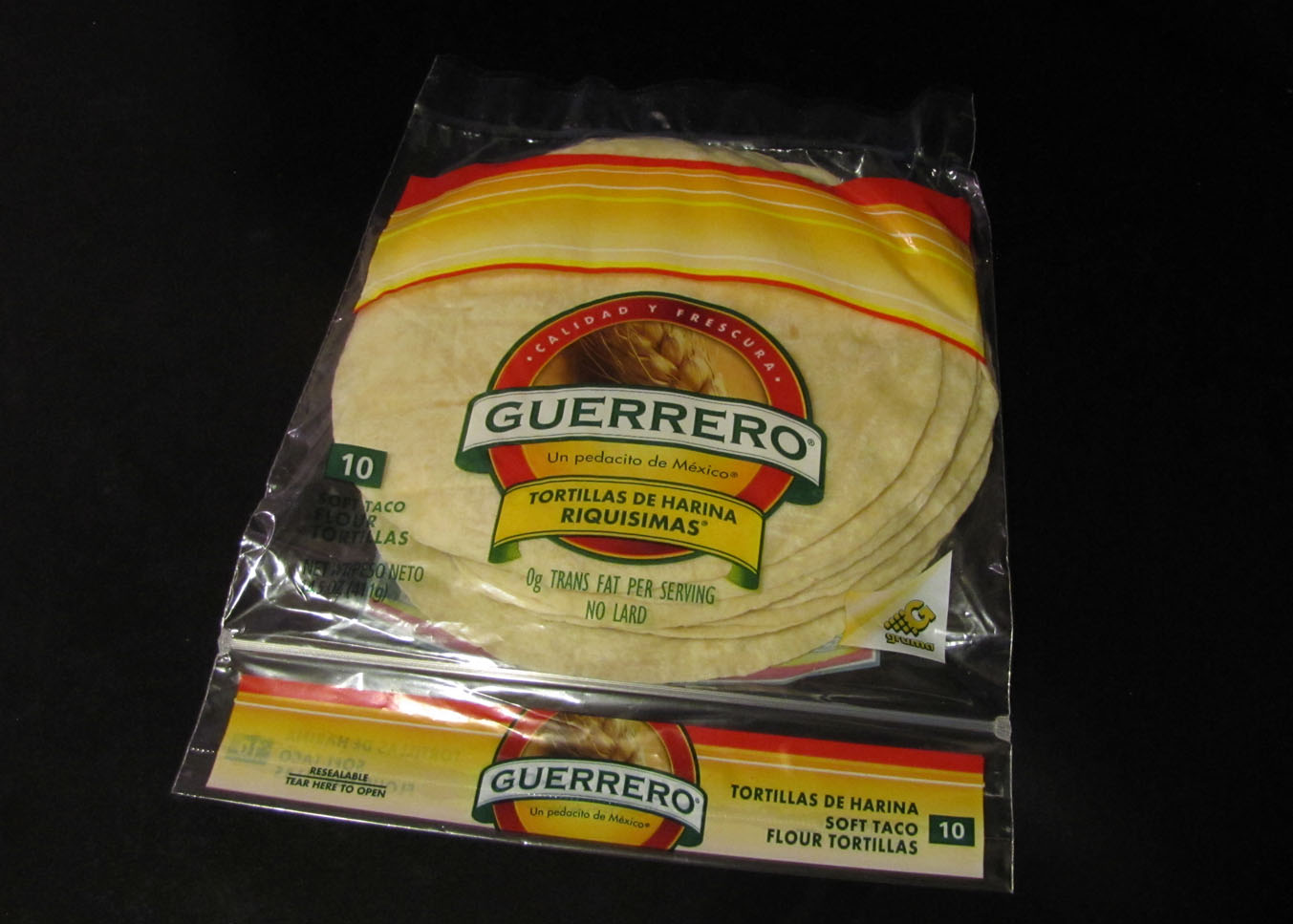 Smells Like Food In Here Guerrero Flour Tortillas