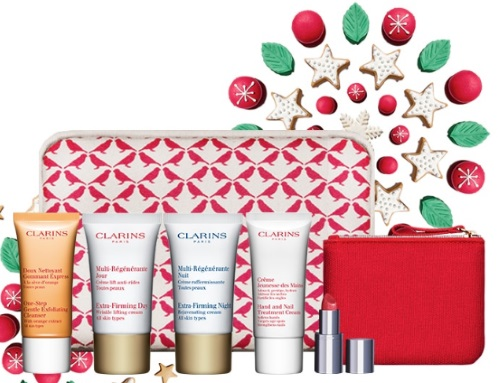 Clarins Cyber Monday Free Ultimate Beauty Gift Deal