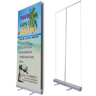 Print  Roll Up Banner Rp 195.000 / X benner Rp 85.000 / Y benner / Mini Benner