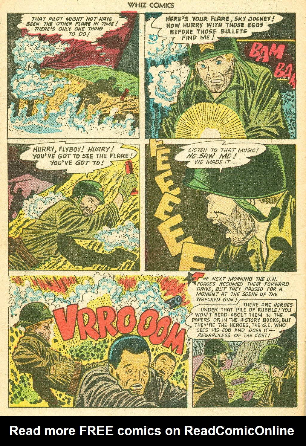 WHIZ Comics #155 #156 - English 34