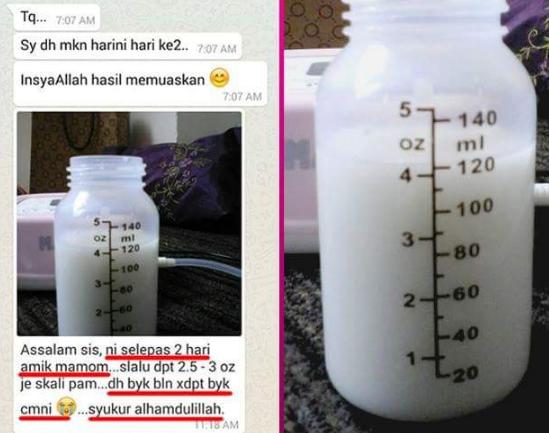 mamom milk booster feedback