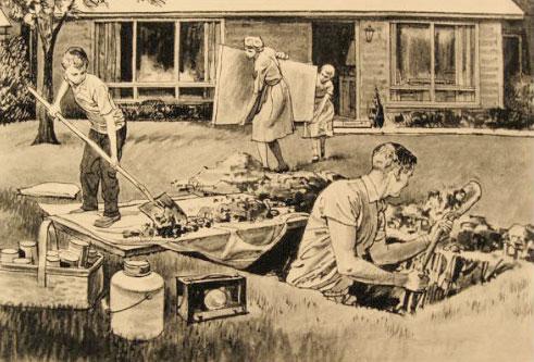 Fallout Shelter Nostalgia >> Brady S Bunch Of Lorain County Nostalgia September 1961 Fallout