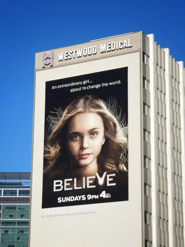 Giant Believe series launch billboard