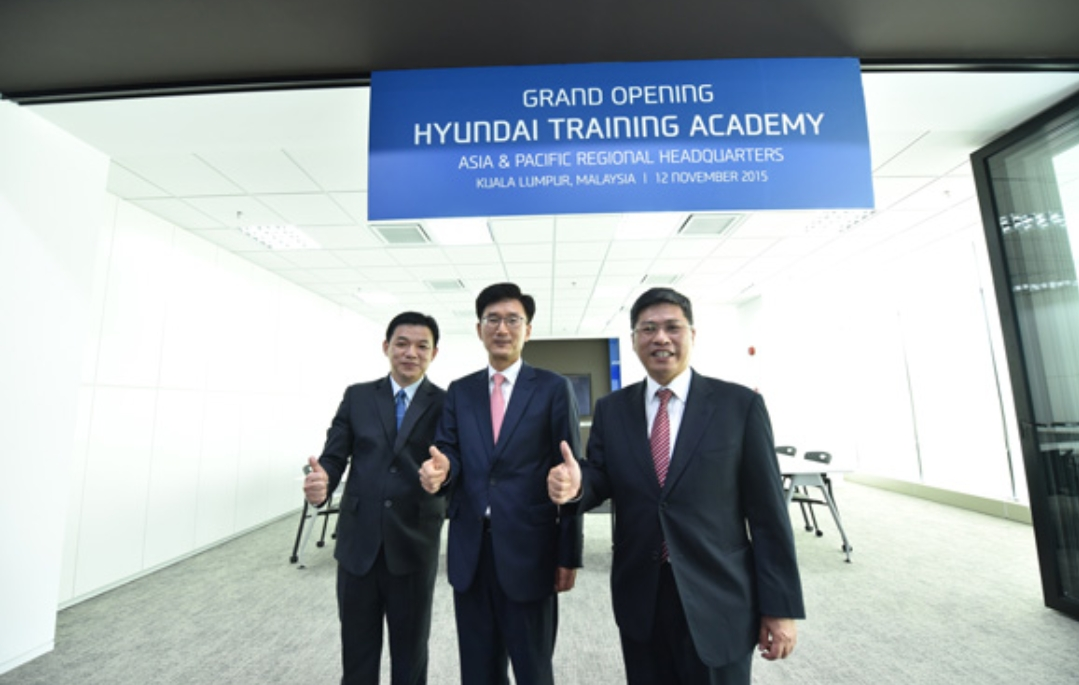 Hyundai trainning centre
