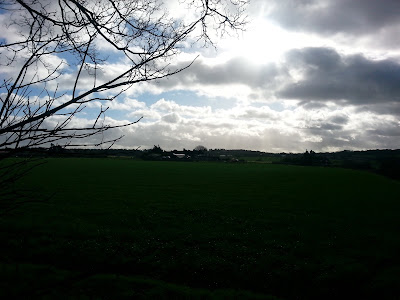 Rain Clouds Over The Little Woodcote Estate
