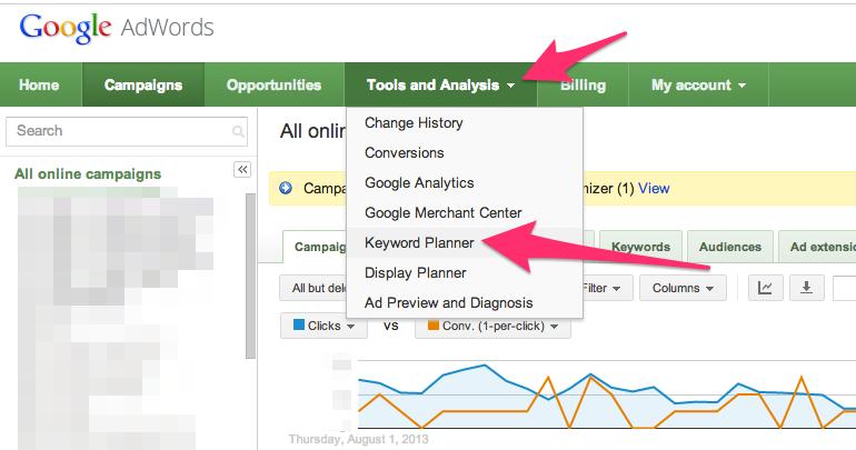 Google Keyword Planner - Tool Riset Keyword Gratis Yang Paling Recommended!