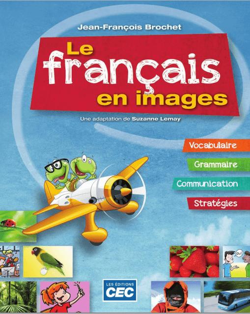 livre Le français en images