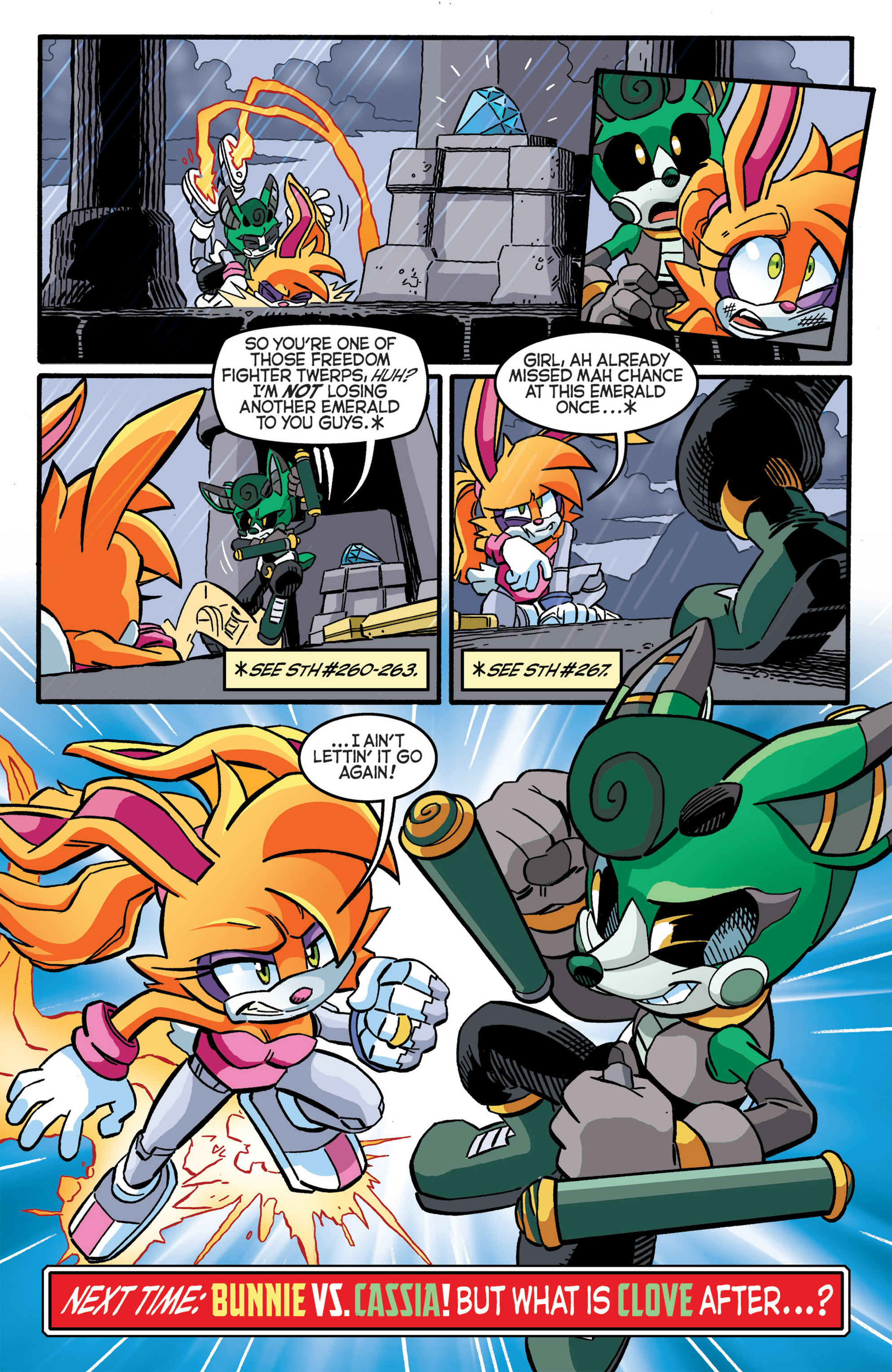 Read online Sonic The Hedgehog comic -  Issue #277 - 22