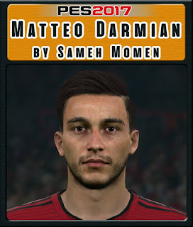 PES 2017 Faces Matteo Darmian by Sameh Momen