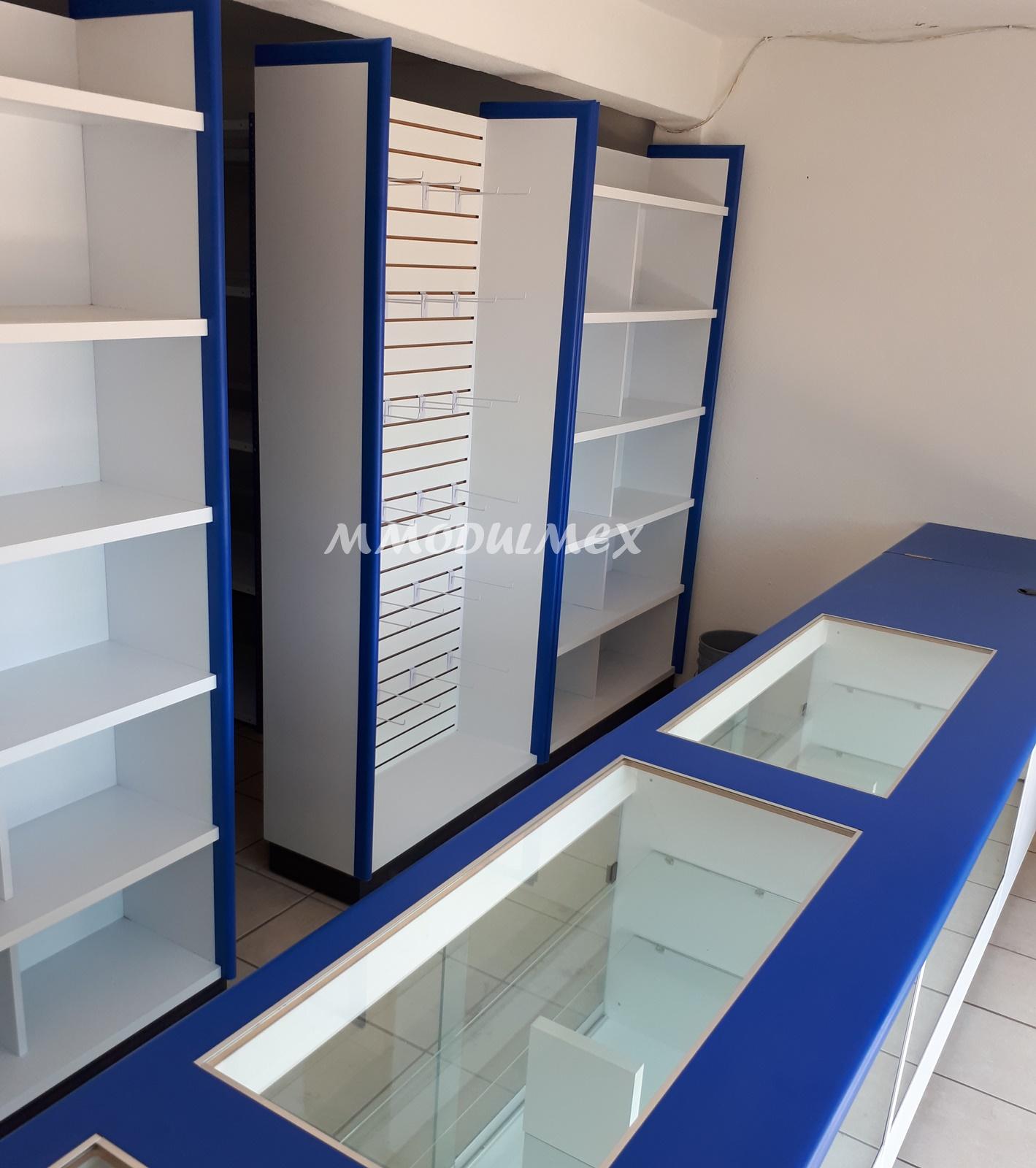 Muebles de tiendas muebles de oficinas y muebles sobre for Diseno de muebles metalicos pdf