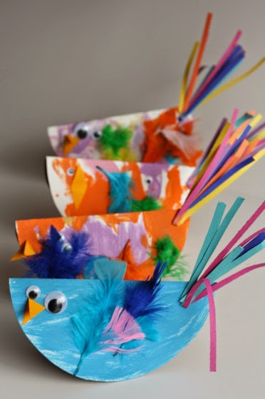 Bird Art Project For Kids Creative Art And Craft Ideas