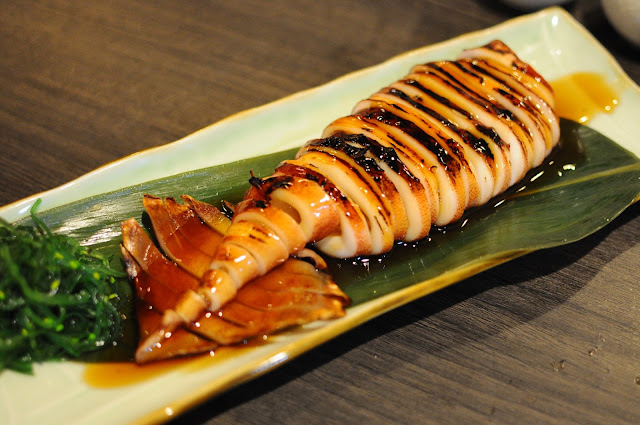 Barashi Tei Food Review Ika Teriyaki Lunarrive Singapore Lifestyle Blog