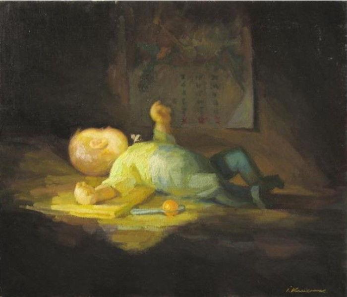 Украинский художник. Ivan Kolisnyk