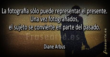 Frases de fotógrafos - Diane Arbus