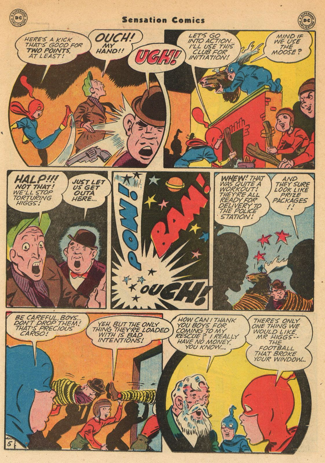 Read online Sensation (Mystery) Comics comic -  Issue #51 - 21