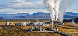 usina de energia geotermica