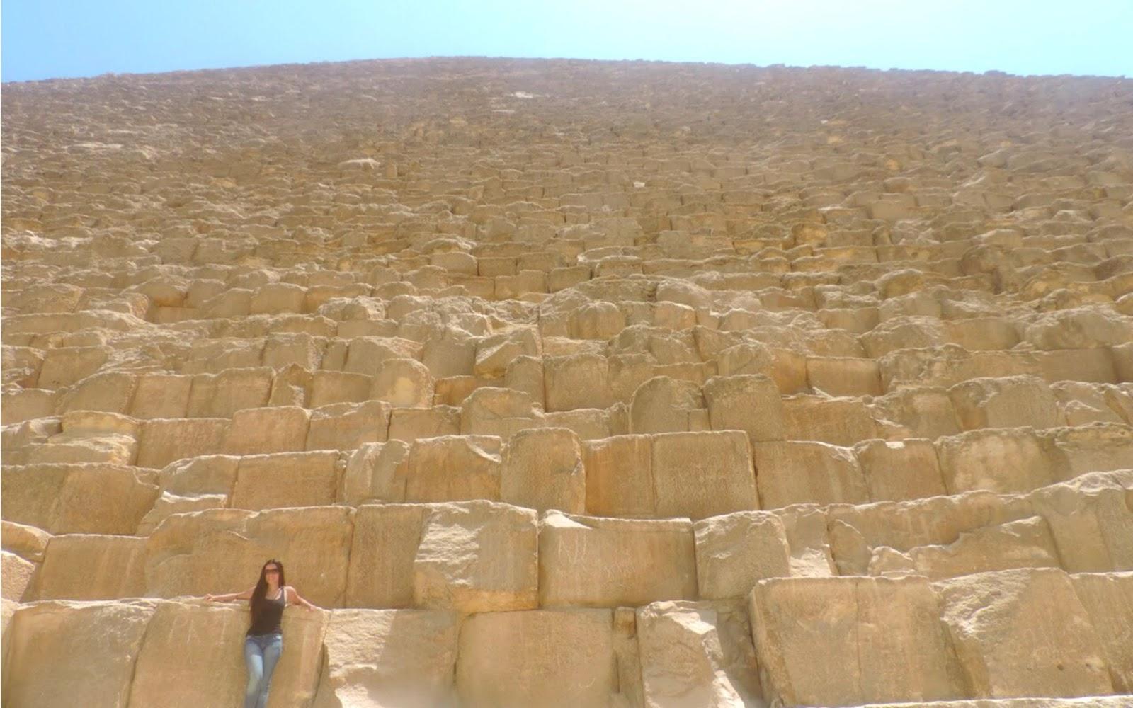 Conhecendo as Pirâmides do Egito! - Giza, Egito