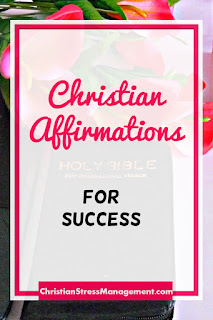 Christian affirmations for success