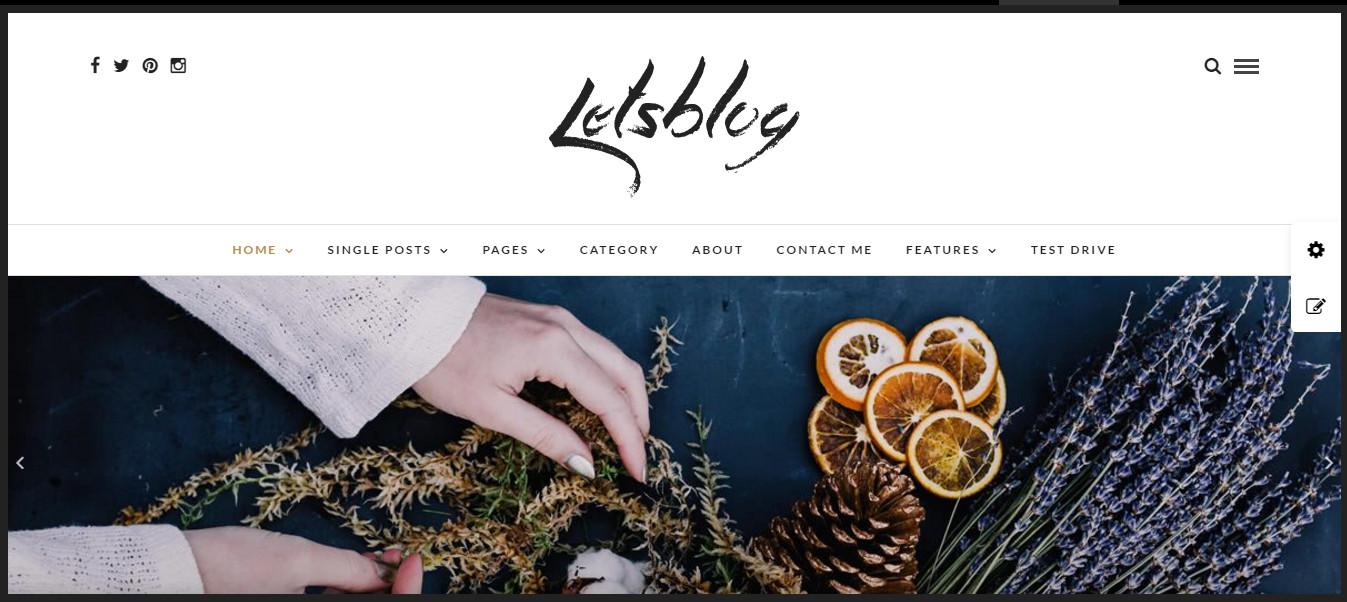 WordPress Responsive blog themes