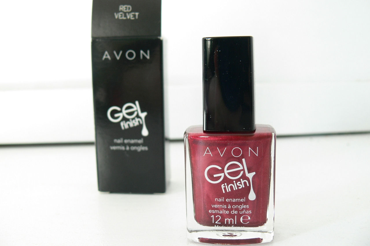 Avon Gel Finish Red Velvet