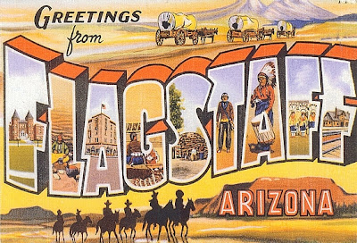 Flagstaff - Arizona, USA - Postcrossing